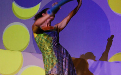 Voci Dance Creates a Playground for Color with Paint Chips