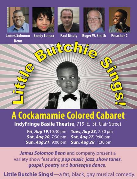 Little Butchie Sings! A Cockamamie Colored Cabaret