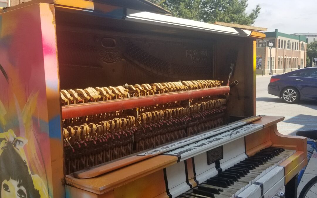 The Artful Piano Has Been Vandalized